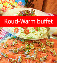Warm en koud buffet